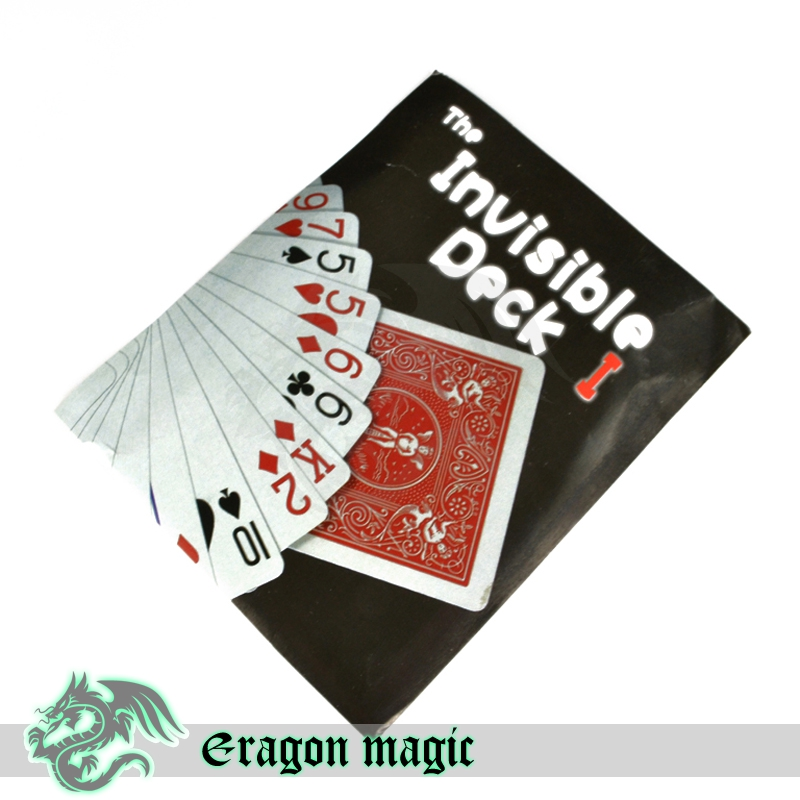 The Invisible Bicycle Deck Version One Free Shipping Cards Magic Tricks Props Toys