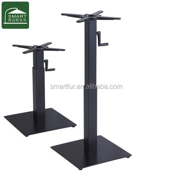 Wholesale Trumpet Antique Cast Iron Industrial Metal Table Base Table Leg  For Sale