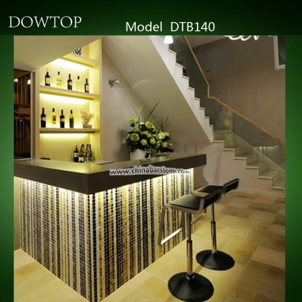 Waterfall Pattern Mini Corner Home Bar Furniture - Buy Home Bar