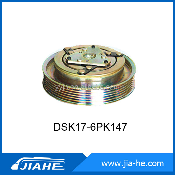 12V/24V magnetic clutch(DKS17-6PK 147) for DKS17 car air compressor with high quality