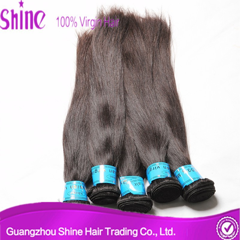 5A grade 100% real virgin indian remy hair extension