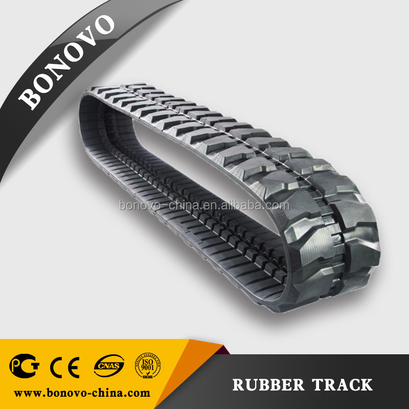 KOBELCO rubber track SK007 180x72x37 / made from natural rubber for Excavator