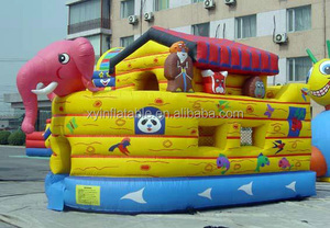 inflatable slide boat noah ark boat bouncer