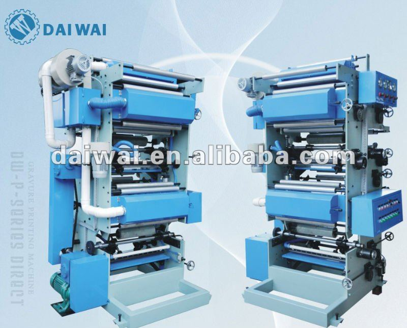 Rotogravure Printing Machine for 1/2/4/6/8 color,printing pe film or plastic bag