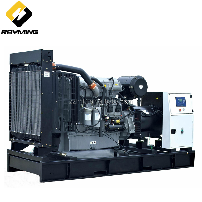 Best-Selling Three Phase Alternator 500kw/550kva Diesel Generator