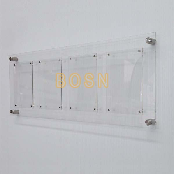 Wholesale Wall Mounted Acrylic Magnetic Picture Frames