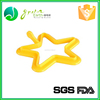 BPA Free Cooking Tools Star Silicone Egg Tools Silicone Fried Egg Ring Mould