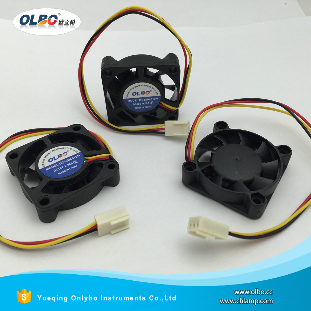 DC12B4010M 3Pin 12v waterproof computer fan 4010 10000rpm dc fan with USB connector