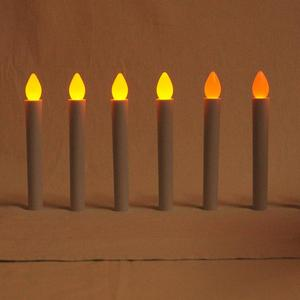 LED Flameless Taper Candles /17cm LED Window Candle /Hand Hold LED Candle Stick for Church