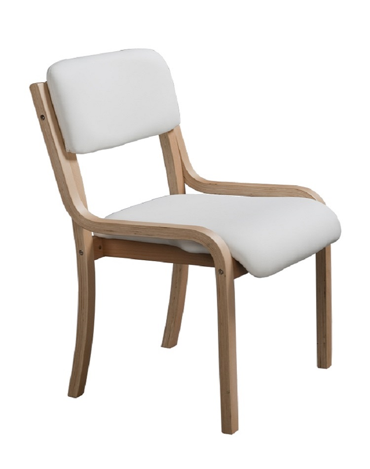 Stackable Elegant European Modern Furniture Wooden Dining Chair