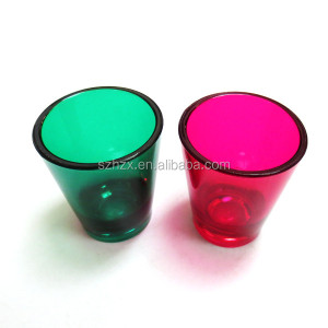 double chamber shot cup / shot glassed for drink