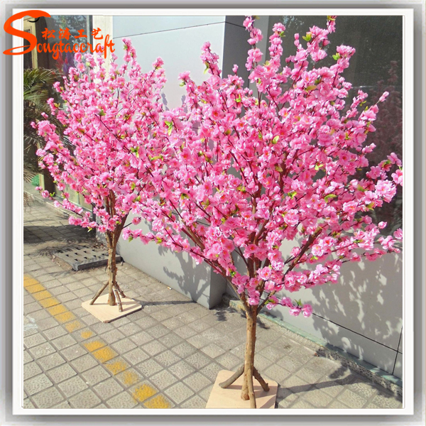 Environmental Fake Trees Artificial Trees Cherry Blossoms