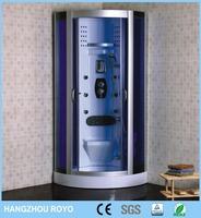 shower corner hangzhou royo steam shower cabin / aluminum shower enclosure Y308