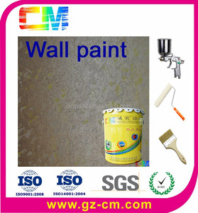 Texture wall paint- spray spring coating elastomer paint
