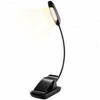 LED Book Light with 9-Level Warm/Cool White Brightness Eye Care Lamp with Power Indicator Perfect for Bookworms & Kids