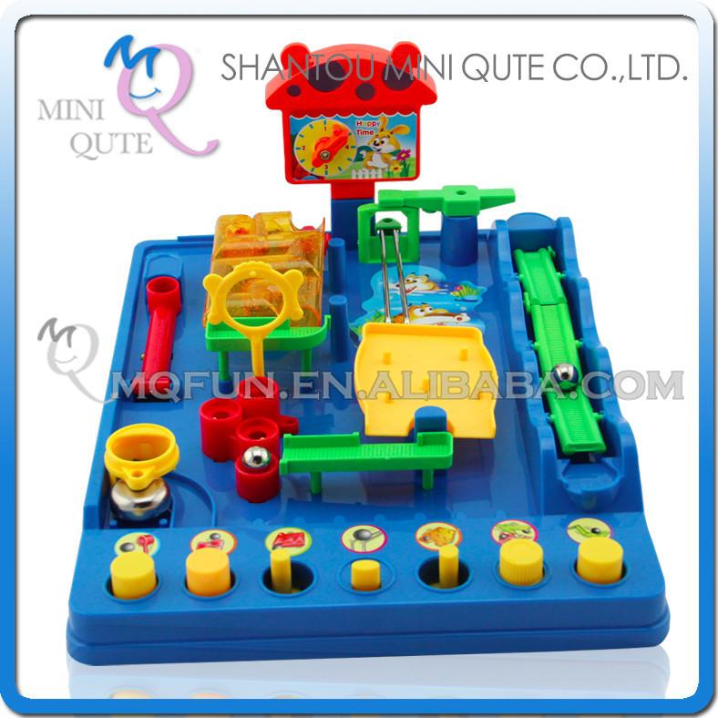 Mini Qute Laberinto 3d Magico Bola Intelectual Para Chicos Juguete