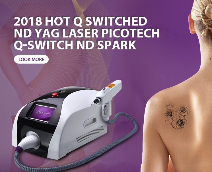 2018 Electro-Optic Q Switch Lutronic Spectra Tattoo Remove Single Pulse Machine