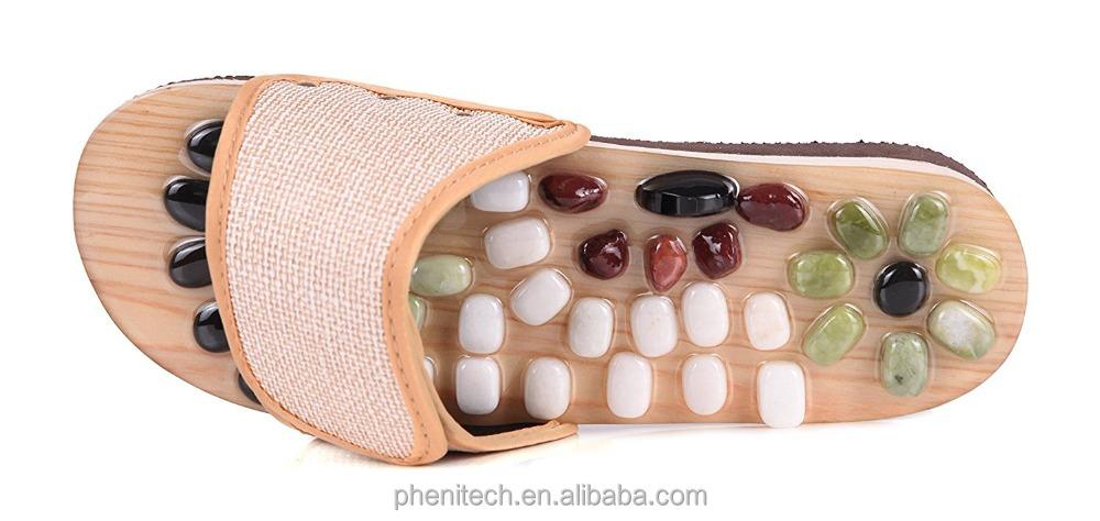 Hot sale!! Wholesale Cheap Stone Foot massage shoes