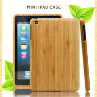 Fashion design for ipad case/wood/bamboo, unique design for ipad air case, custom logo wholesale for cover ipad