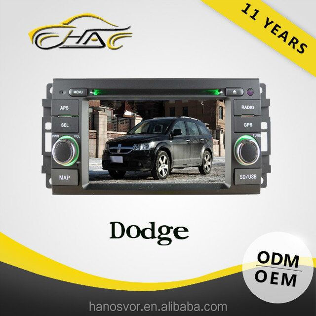 2 din bluetooth car radio for dodge journey with rearview camera