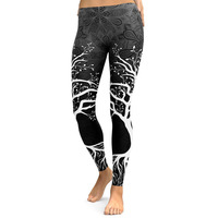 2018 Hot Sale Popular Women's Digital Printed Long Yoga Workot Legging Thin Capris Pants