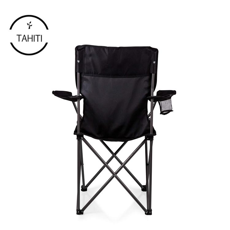 Highlander Compact En Acier Camping Administrateurs Chaise Avec Côté Table