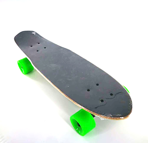 Maple deck electric skateboard with PU wheels