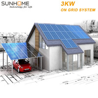 Sunhome 3kW solar energy systems ,solar panel kits for home system