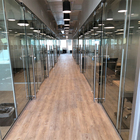 full height office partition office desk partition glass partitions