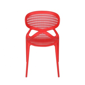 Factory Sale Party Back Strong Rattan Colorful Dining Lighting Plastic Chair