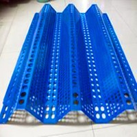 PVC Coated windproof barrier mesh/windproof mesh fence supplier /professional manufacturer
