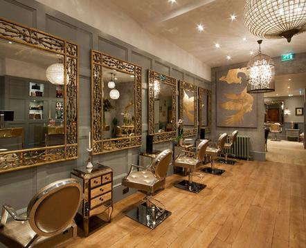 Gold White Hair Salon Furniturebeauty Salon Chair Bc Buy - Hair salon furniture
