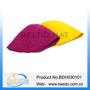 b4e68f1b8a0 ... best price wool felt hat blank with traffic cone blank flat hat body  a7809 90a83