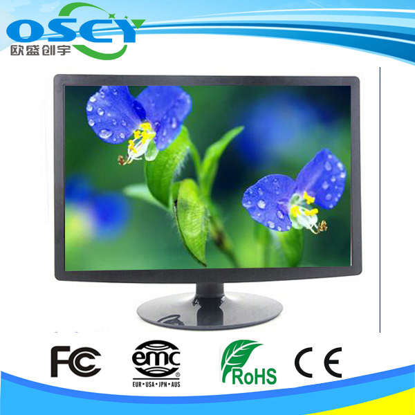 "12v dc input 22"" square LCD Monitor with HD MI VGA DVI connector"