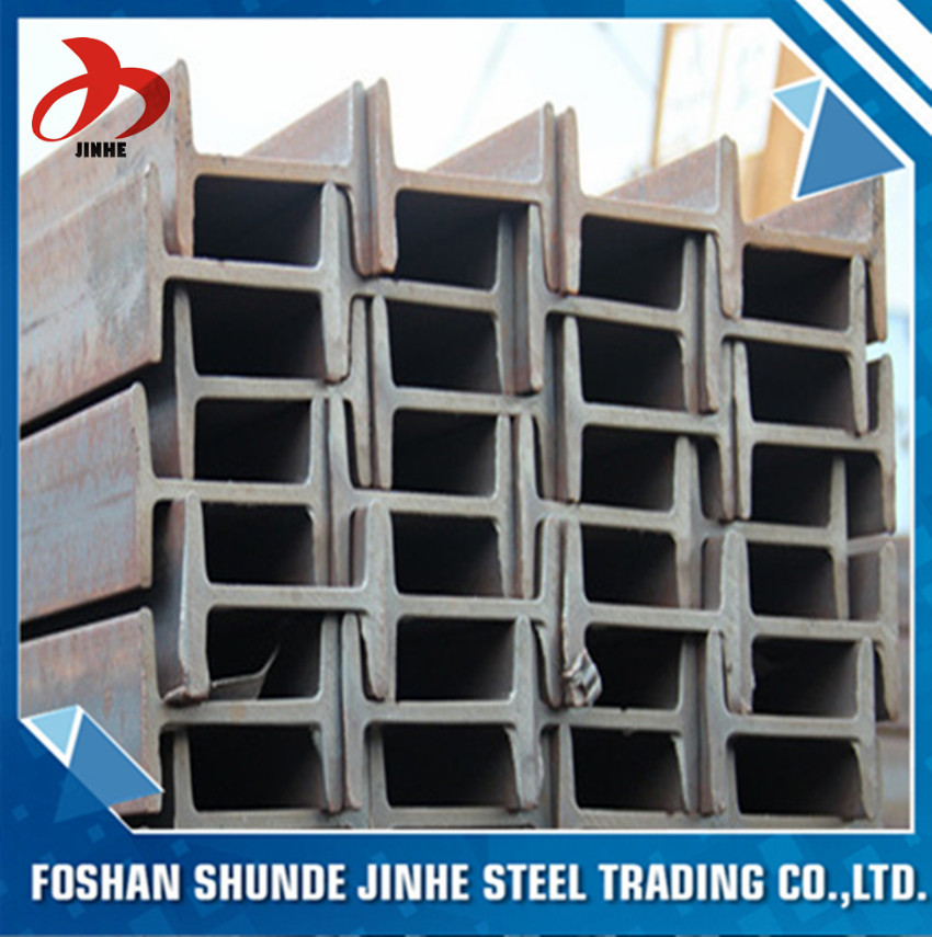 China Hot Sale Foshan Sizes Of Wide Flange Galvanized Steel I Beam