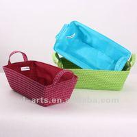 promotional houseware handicraft plastic gift basket