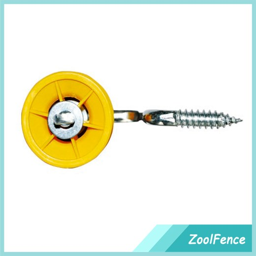 Zool Offset Screw-in Poly Tape / Wire / Ribbon Insulators for Electric Fence