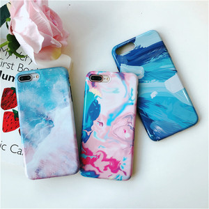 Colorful marble phone cases for iphone XS, XS MAX, XR marble phone housing for the new iphone cases