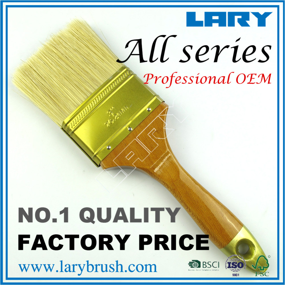 LARY BR2750 Pure Bristle Double Color Wood Graining Tools Paint Brush Professional Tools Paint Brush Manufactuers