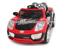 R/C & Foot-step Ride On Car with Music and Light Kids Ride On Car