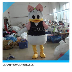 HI CE hot sale duck costume,mascot,charming mascot custume for sale