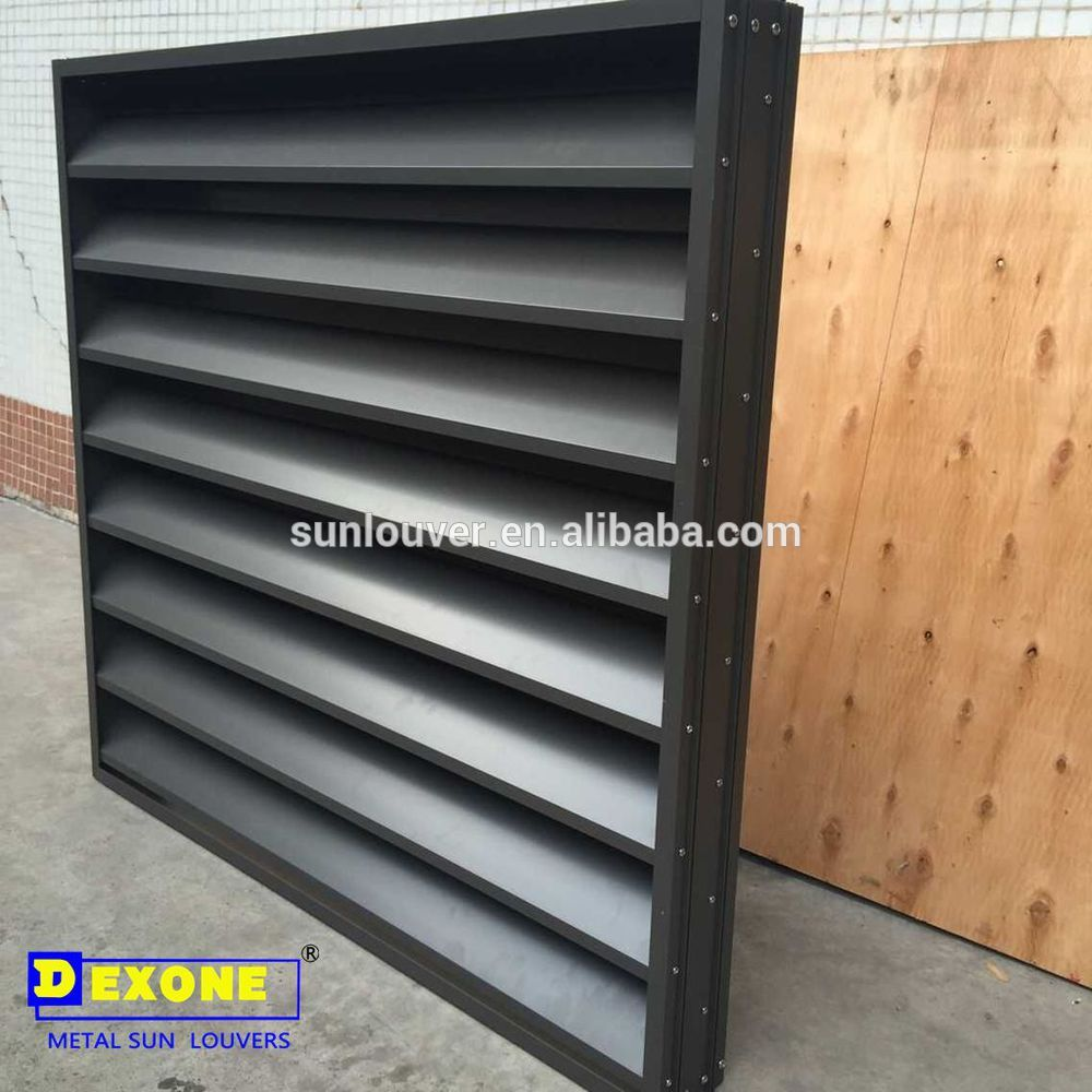 Exterior Aluminium Shutter Louver With Waterproof Function