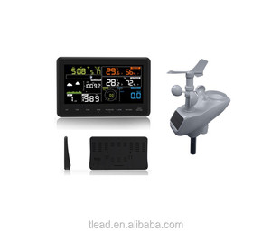 Professional Colorful WIFI APP Weather Station AW006