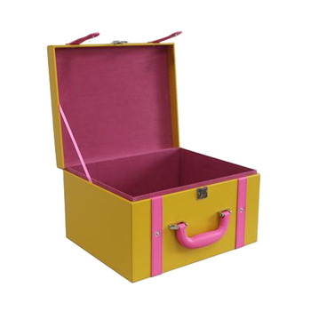 PU Leather Cloth Trunk for Home Storage Box/Hotel Storage Box
