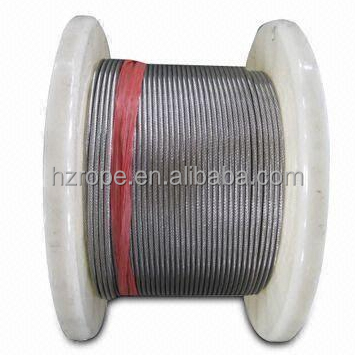 1.5mm Marine Stainless Steel Wire Cable Rope 7x19 316-100m