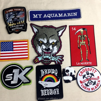 100% Embroidered Patches