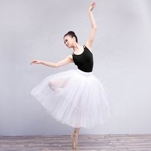 Professionale Adulto Bianco Lungo Tutù <span class=keywords><strong>di</strong></span> <span class=keywords><strong>Balletto</strong></span> Per Le Donne