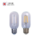 CE RoHS Clear Amber Glass 2W 4W T45 led filament bulb lamp