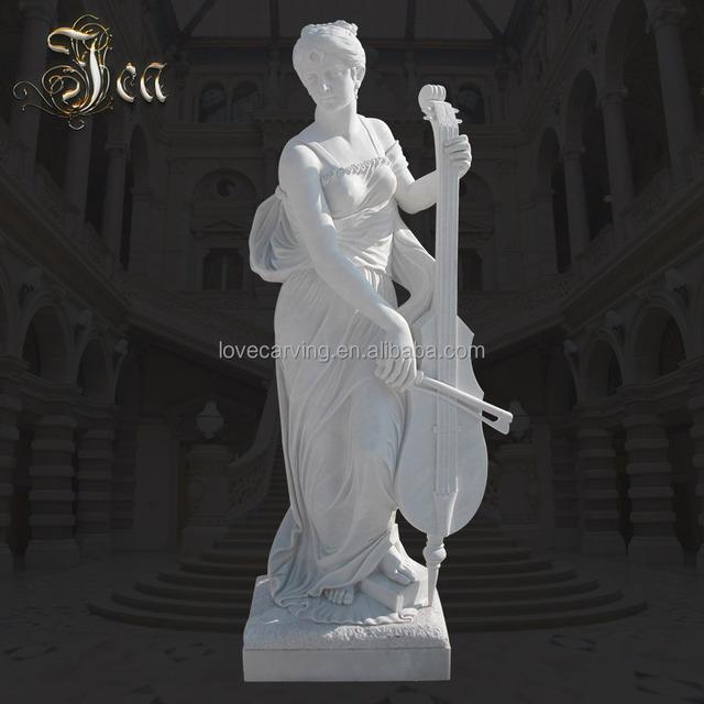Patented Garden Stone Modern Girl Sculpture Woman Marble Statue