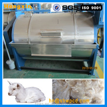 Effective stainless steel Industrial raw sheep wool washing machine
